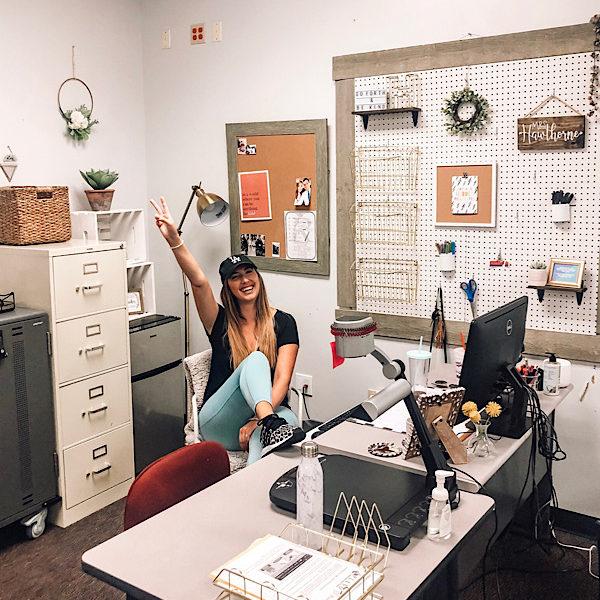Middle School Classroom, Teacher Desk Decor